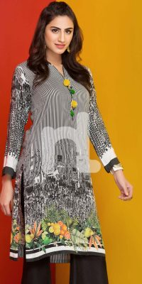 Nishat Linen Winter Stitched Shirts Collection 2017 (9)