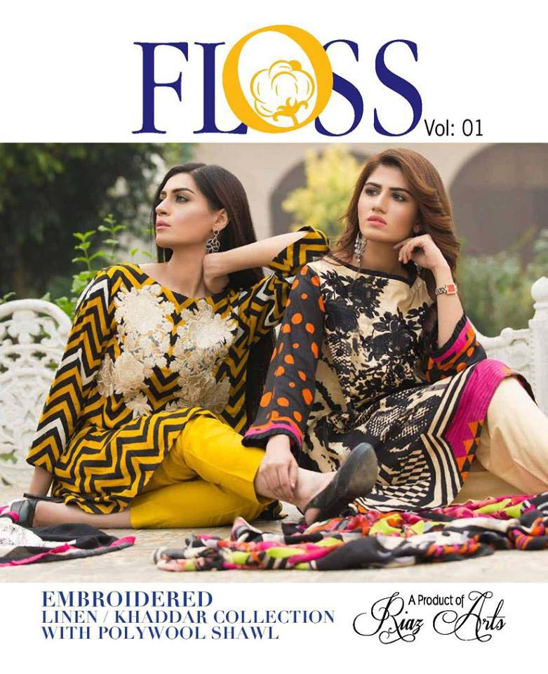 Charizma Latest Winter Plush and Floss Embroidered Collection 2017-2018