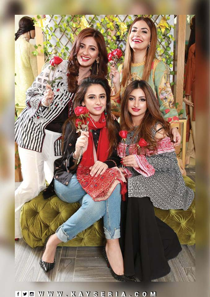Kayseria Latest Women Pret Collection 2018-19 With Price