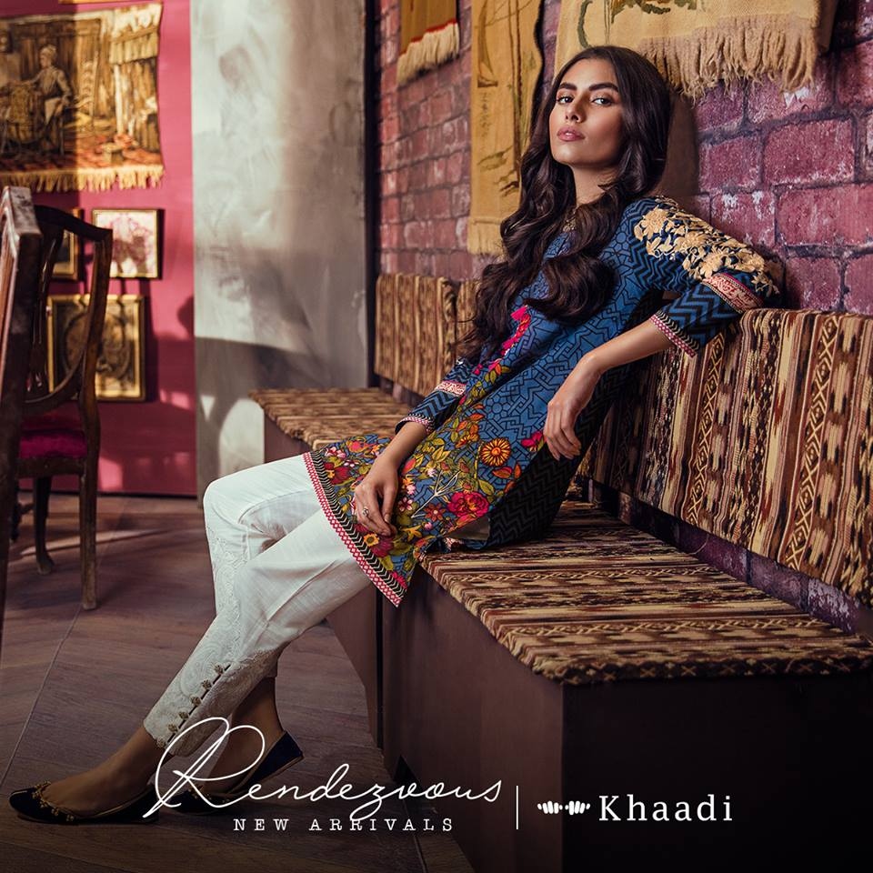Khaadi Newest Summer Collection 2018 Volume 1 With Design Codes