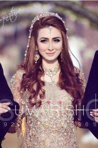 Latet Pakistani Bridals Hairstyle Ideas & Jwelery Designs 2018-2019 (10)