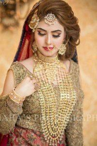 Latet Pakistani Bridals Hairstyle Ideas & Jwelery Designs 2018-2019 (12)