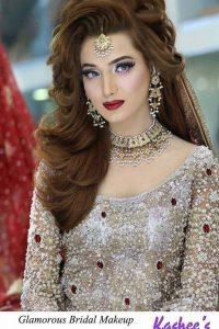 Latet Pakistani Bridals Hairstyle Ideas & Jwelery Designs 2018-2019 (16)