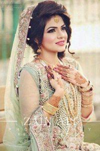 Latet Pakistani Bridals Hairstyle Ideas & Jwelery Designs 2018-2019