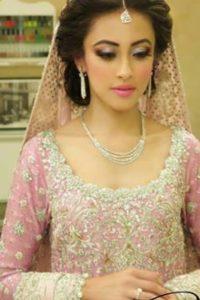 Latet Pakistani Bridals Hairstyle Ideas & Jwelery Designs 2018-2019 (3)