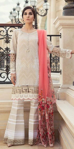 Maria.B Latest Summer Lawn Collection 2018-2019 Complete Catalogue (18)