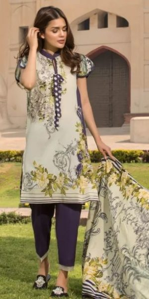 Firdous Summer Lawn Collection 2018 (2)