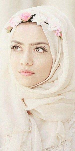 Hijab With Tiara (3)