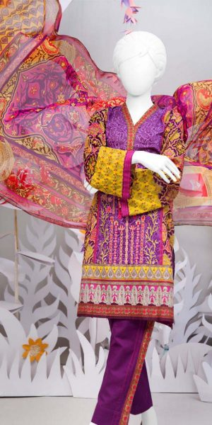 J.Junaid Jamshed Summer Lanw Two Piece Collection 2018 (8)