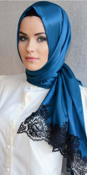 Lacy Hijab Style (1)