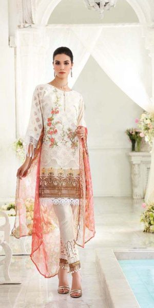 Gul AHmed Best designers Eid Lawn Dresses 2018 (1)