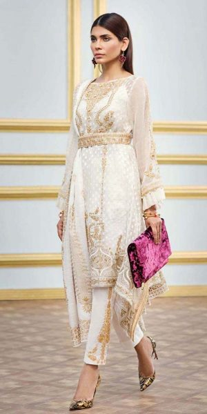 Gul AHmed Best designers Eid Lawn Dresses 2018 (2)