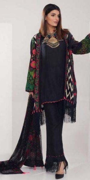 Khaadi Best designers Eid Lawn Dresses 2018 (2)