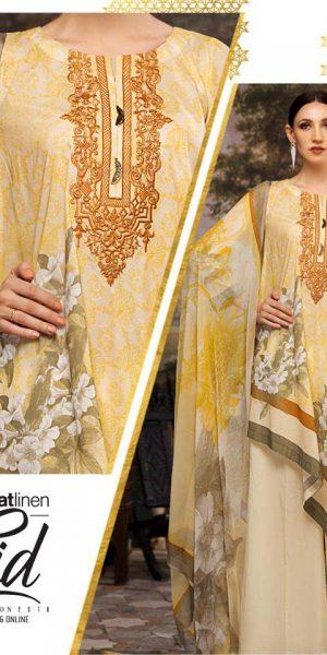 Nishat linen Best designers Eid Lawn Dresses 2018