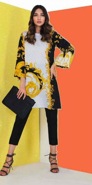 Sana Safinaz Best designers Eid Lawn Dresses 2018 (2)