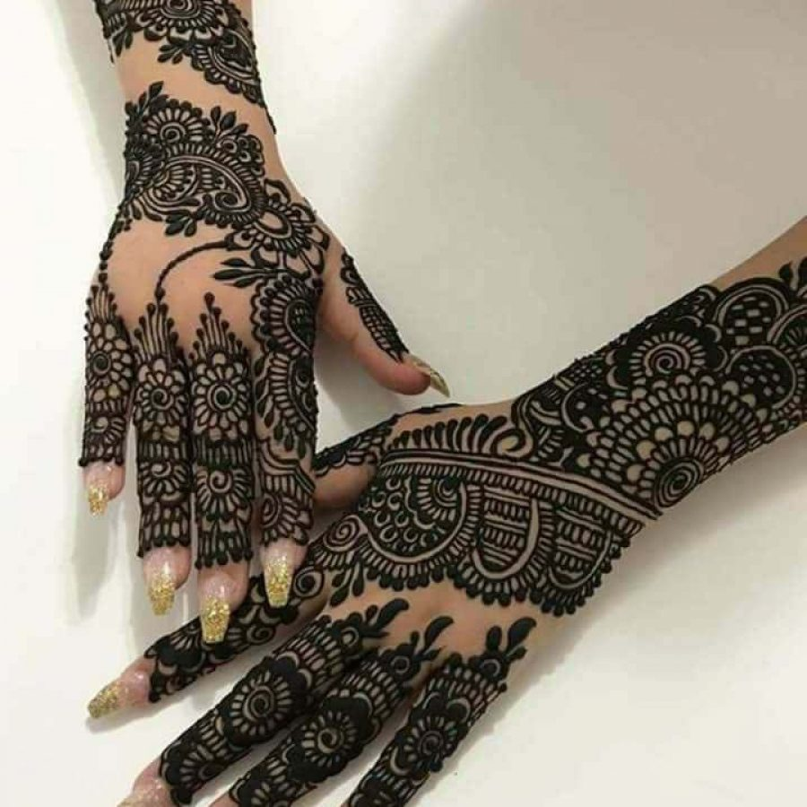 Latest Mehndi Designs For Hands 2018 (10)