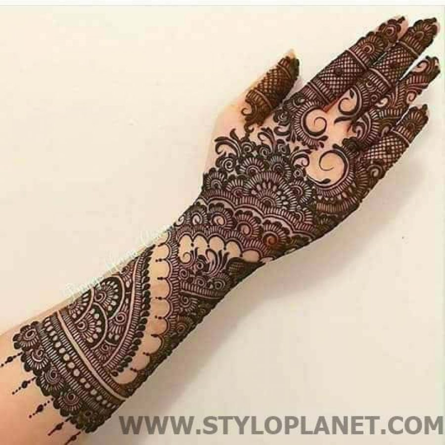 Latest Mehndi Designs For Hands 2018 (11)
