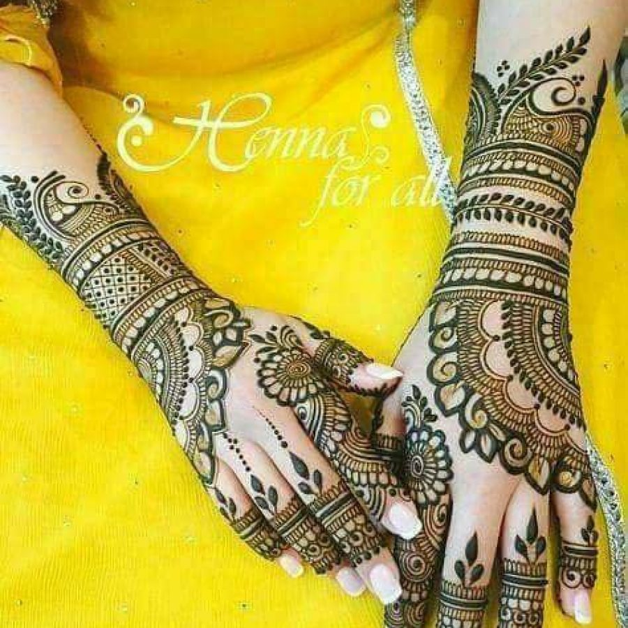 Latest Mehndi Designs For Hands 2018 (12)