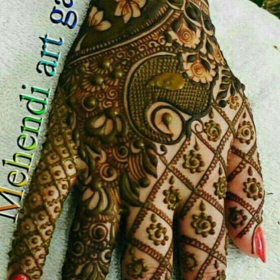 Latest Mehndi Designs For Hands 2018 (15)