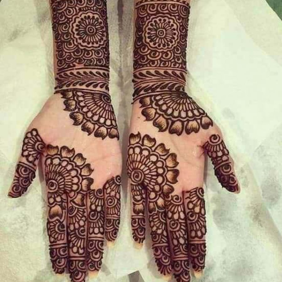 Latest Mehndi Designs For Hands 2018 (2)