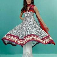 Top 10 Asian Girls Frock Styles and Types Collection 2018-2019 (9)