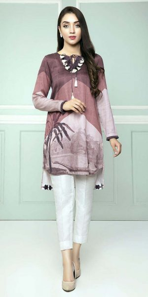 CROSS STITCH WINTER COTTON SATIN EMBROIDERED COLLECTION 2018-2019 (12)