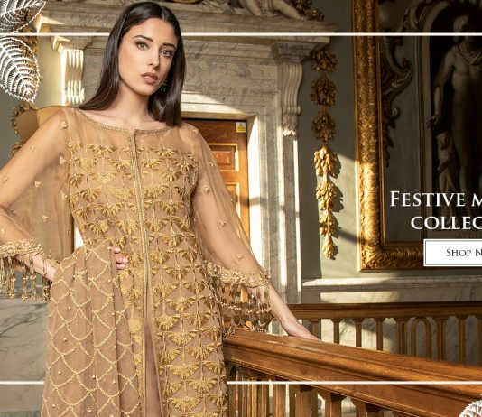 db1e8a140d3b6 Asim Jofa Latest Festive Mysori Collection 2019-2020 For Women