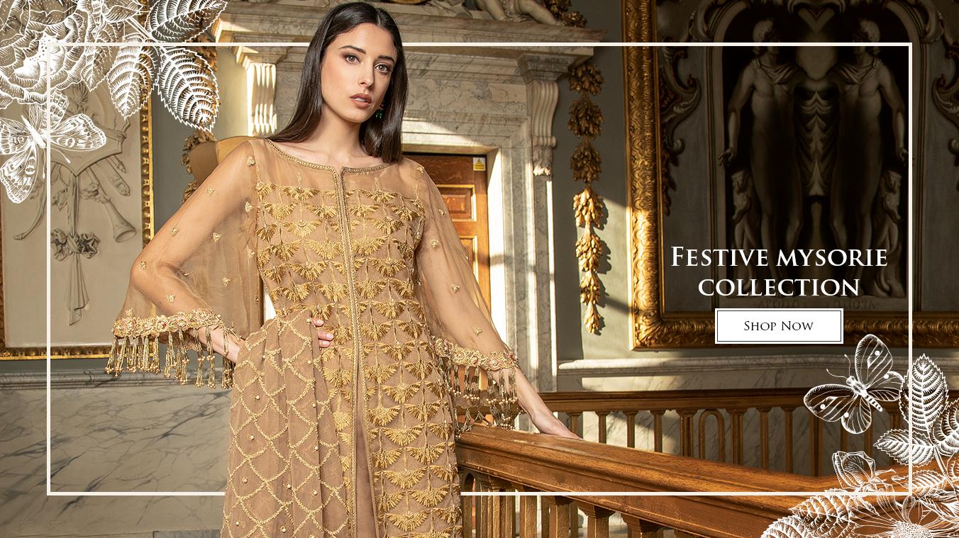 Asim Jofa Latest Festive Mysori Collection 2020 For Women