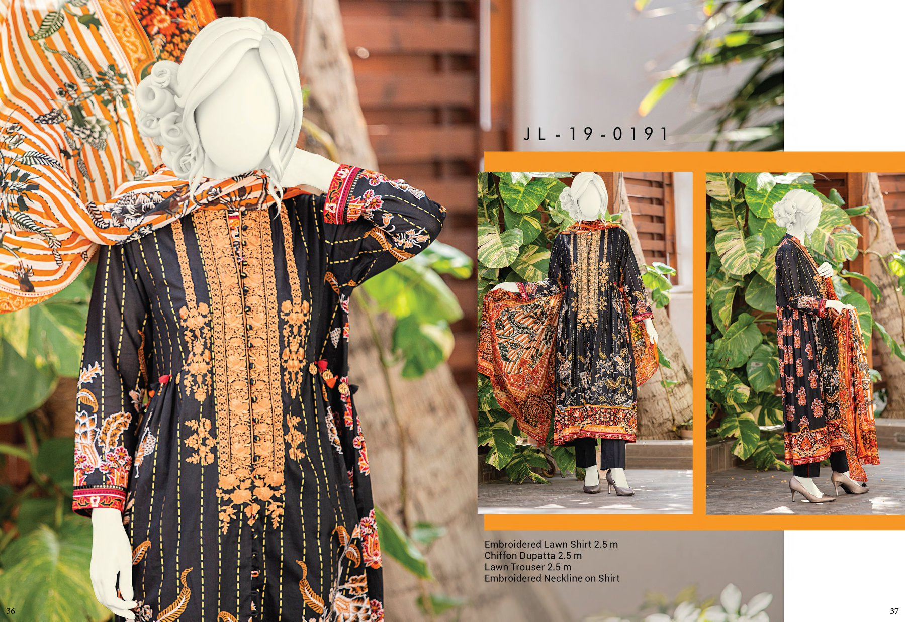 Junaid Jamshed Eid Dresses For Girls Women Collection Volume II 2019-2020 Designer Dresses