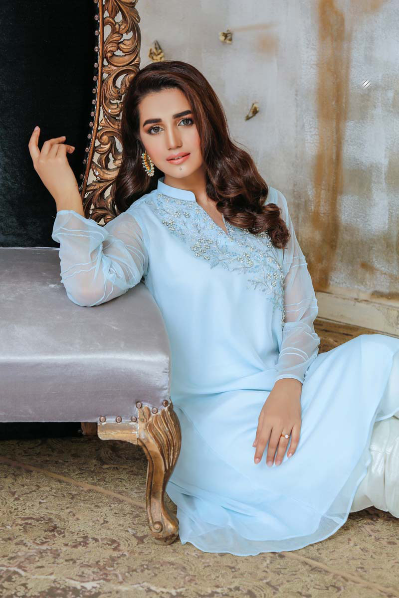 SHEEP Latest Stylish Party Wear Formal Dresses For Women 2020