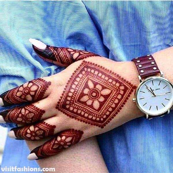 Most Beautiful Latest Mehndi Designs Collection 2020
