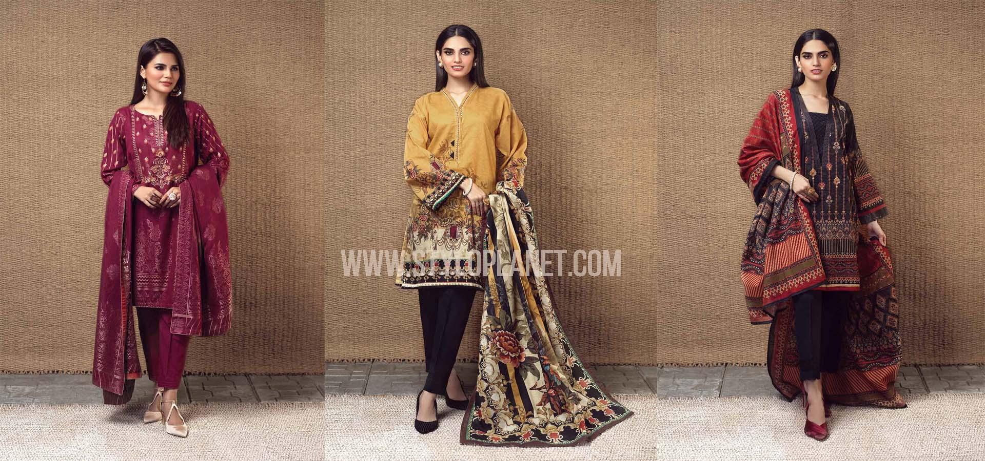 Bonanza Satrangi Latest Winter Khaddar Collection 2020
