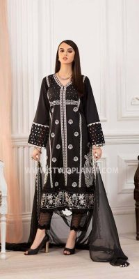 Black and White (Muharram ) Women Dresses Collection by Charizma (1)