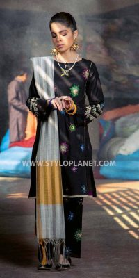 Black and White (Muharram ) Women Dresses Collection by Charizma (2)