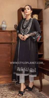 Black and White (Muharram ) Women Dresses Collection by Charizma (3)