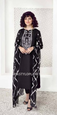 Black and White (Muharram ) Women Dresses Collection by Charizma (4)