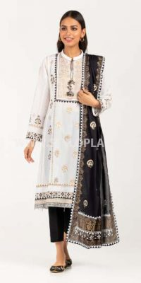 Black and White (Muharram ) Women Dresses Collection by Gul Ahmed (4)