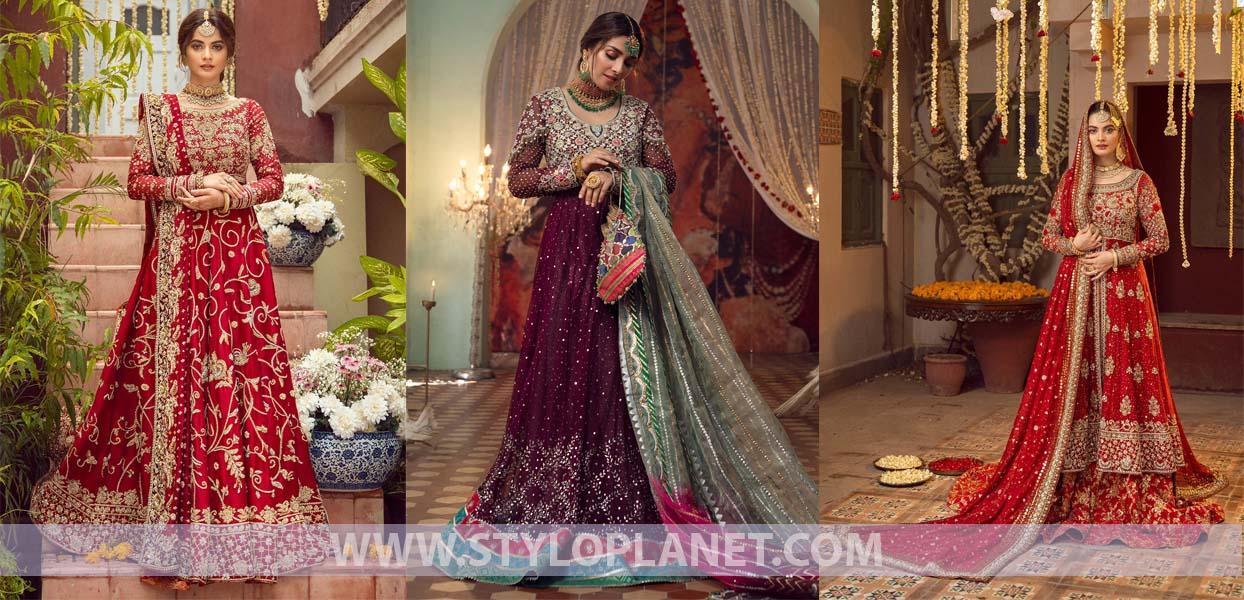Annus Abrara Latest Bridal Dresses 2021 Designers Collection