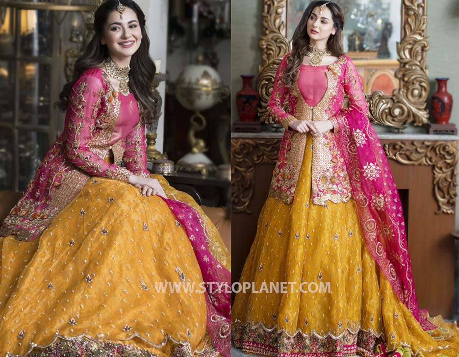 Asifa and Nabil Latest Bridal and Party Wear Dresses 2021