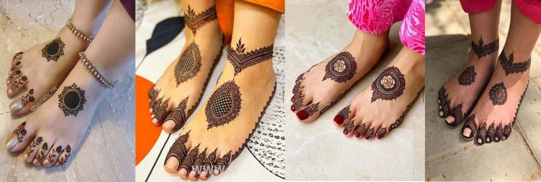 Foot mehndi Designs 2021