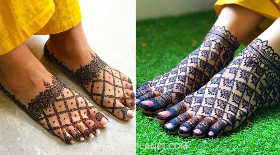 Jaldi style Mehndi design