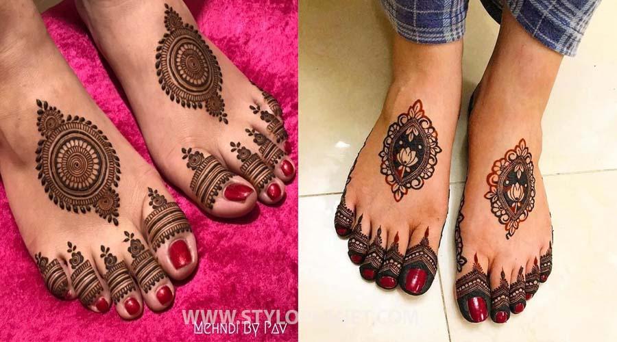 Motif Style Mehndi Design